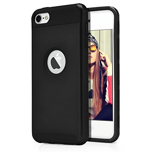 iPod Touch 6th Case, MagicMobile® Hard Shockproof Rubber Case for...