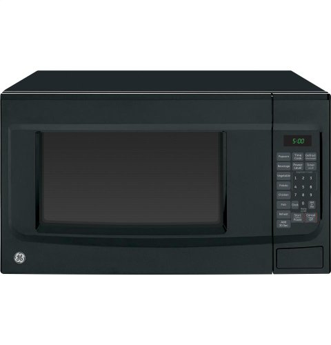 GE JES1460DSBB 1.4 Cu. Ft. Black Countertop Microwave