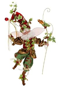 """Mark Roberts Collectible Holly and Ivy Christmas Fairy - Large 19"""" #51-12406"""