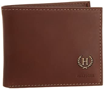 Tommy Hilfiger Men's Hove Passcase Billfold, Tan, One Size