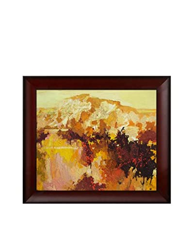 "Alex Bertaina ""Le Temps Des Pommes"" Framed Canvas Print"