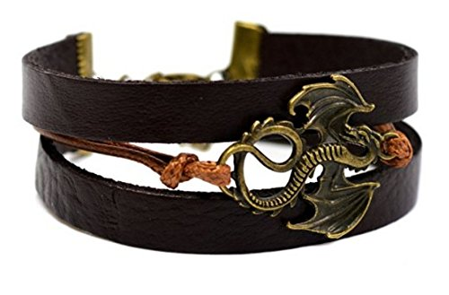 buy-any-2-get-1-free-18cm-brown-bronze-dragon-adjustable-multilayered-leather-bracelet-game-of-thron