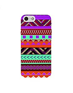 Iphone 7 nkt02 (43) Mobile Case by Mott2 - Tribal Colorful Pattern