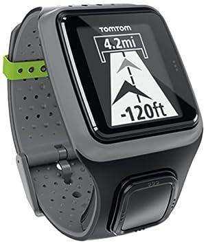 Montre GPS TomTom Multi-Sport HRM incluant une ceinture cardio-fréquencemètre Gris foncé (1RS0.001.01)