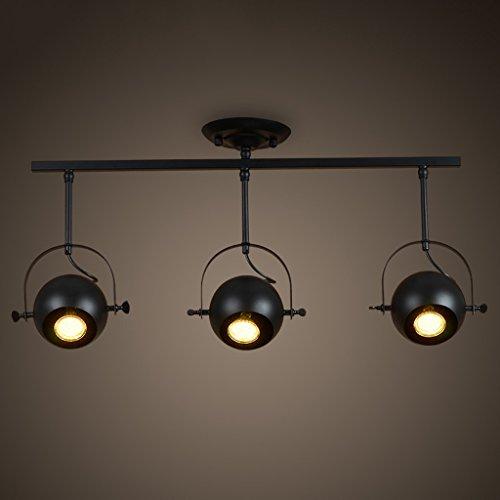 Good moral character Faretti bar retro illuminazione industriale bar salone creativo 3 testa personale il lungo - lampadari asta