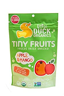 buy Little Duck Organics Tiny Fruits Freeze Dried Snacks For Tiny Humans, Apple/Mango, 6 Count