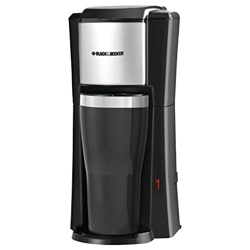 Buy Cheap Black & Decker CM618 Single Serve Coffee Maker, Black