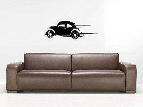 Vw Beettle Car Wall Decal Nursery Room Mancave Garage Dealership Gm2311