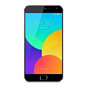 Meizu MX4 PRO Téléphone portable débloqué 4G (Ecran : 5,5 pouces - 16 Go - Simple SIM - Android 4.4 KitKat) Gris