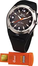 Ruhla Gardé Germany Sportline 5256-1 Wristwatch for Him With USB Flash Drive