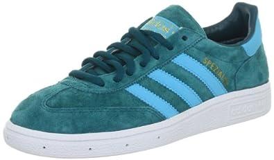 adidas Originals SPEZIAL V24575, Herren Sneaker, Blau (BIG SUR / SUPER CYAN S12 / WHITE), EU 36 2/3 (UK 4)