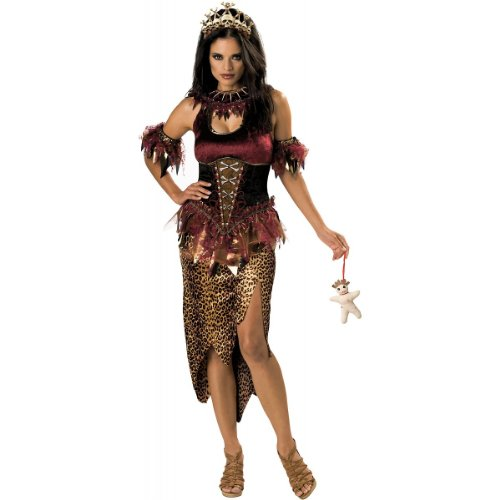 Voodoo Priestess Costume - Medium - Dress Size 6-10