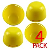Twin Egg Poacher Moulds - Perfectly Poached Eggs (Pack of 4)