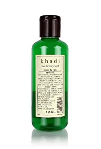 Khadi Neem and Tulsi Face and Body Wash