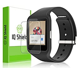 IQ Shield LiQuidSkin [6-Pack] - Sony Smartwatch 3 Screen Protector with Lifetime Replacement Warranty - High Definition (HD) Ultra Clear Screen Smart Film - Premium Protective Screen Guard - Extremely Smooth / Self-Healing /