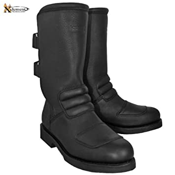 Xelement Women's Advanced Dual Strap Leather Boots With Vibram Soles 100