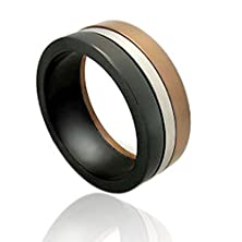 buy Bear Pride Flag Ring - Male Gay Pride Steel Ring Male Gay Pride Ring. High Quality Steel Ring Band For Gay Guys. Lgbt Rainbow Pride Jewelry Is Great For The Gay Parade Or As A Gay Gift To Celebrate Gay Love, Bear Pride And Same-Sex Wedding Marriage Equali