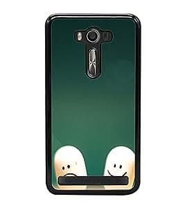 Smilies 2D Hard Polycarbonate Designer Back Case Cover for Asus Zenfone Selfie ZD551KL