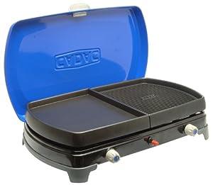 Cadac 184f 2 cook deluxe barbecue fornello a gas portatile da viaggio sport e tempo - Barbecue portatile a gas ...
