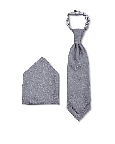 Masterhand Corbata Set 25 Plastron y Pañuelo