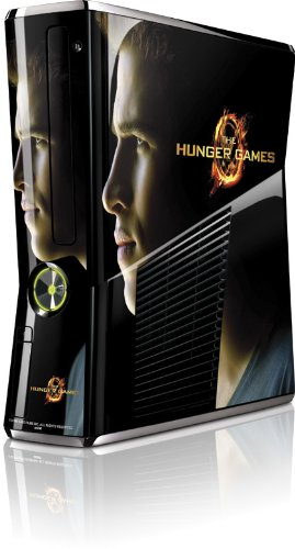 Skinit The Hunger Games -Gale Hawthorne Vinyl Skin for Microsoft Xbox 360 Slim (2010)