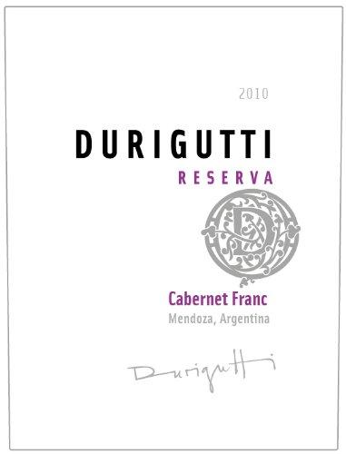2010 Durigutti Cabernet Franc Reserva, Mendoza 750 Ml