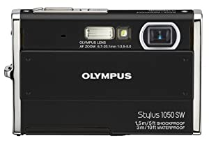 Olympus Stylus 1050SW 10.1MP Digital Camera with 3x Optical Zoom (Black)