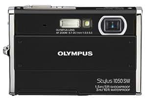 Olympus Stylus 1050SW 10.1MP Digital Camera with 3x Optical Zoom (Black)