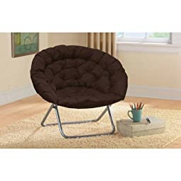 Oversized Moon Chair, Multiple Colors Brown