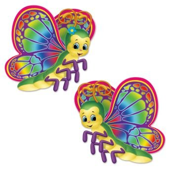 Beistle 54176 Butterfly Cutouts, 15.5""