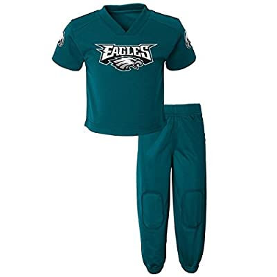 Toddler Philadelphia Eagles Field Goal Pants Set - Green