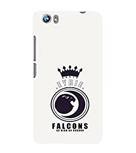 EPICCASE EYRIE Falcons Mobile Back Case Cover For Micromax Canvas Fire 4 A107 (Designer Case)