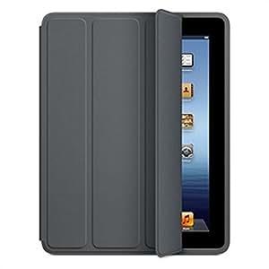 Apple MD454ZM/A Polyurethan SmartCase für iPad dunkelgrau