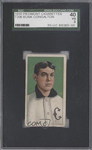 bunk-congalton-sgc-graded-40-baseball-card-1909-11-t206-piedmont-350-back-buco