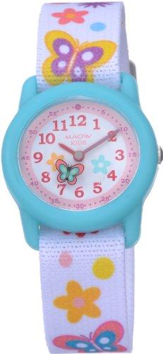 [マオ]MAOW 腕時計 マオ・キッズ 蝶 MK100-02 ガールズ