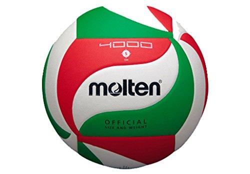 Molten Volley Ball - 5, Weiß / Grün / Rot