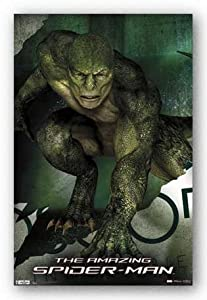 "The Amazing Spider-Man Movie Poster - Lizard 22""x34"" Art Print Poster"