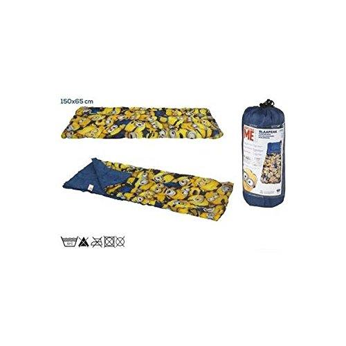 ColorBaby - Saco de dormir, diseño minions, 65 x 150 cm (76588)