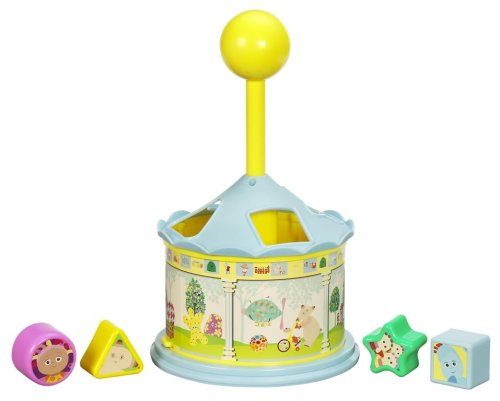 In the Night Garden Shape and Spin Gazebo Sorter