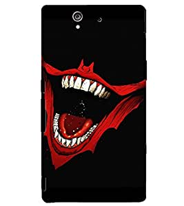 PRINTSHOPPII JOKER SMILE Back Case Cover for Sony Xperia Z::Sony Xperia Z L36h