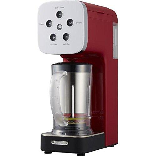 ドウシシャ コーヒーメーカー SOLUNA Quattro Choice レッド QCR85ARD
