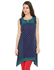 LOVELY LADY Ladies Blend EMBROIDERED KURTI