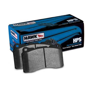 2009-2010 NISSAN 370Z BASE w/ Sport Brakes (Akebono calipers) Hawk HPS Front and Rear Brake Pads