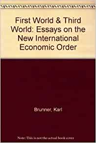 Reportage essays on the new world order
