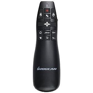 Control para Presentaciones IOGEAR Red Point Pro 2.4GHz con mouse para presentación giroscópico y apuntador laser