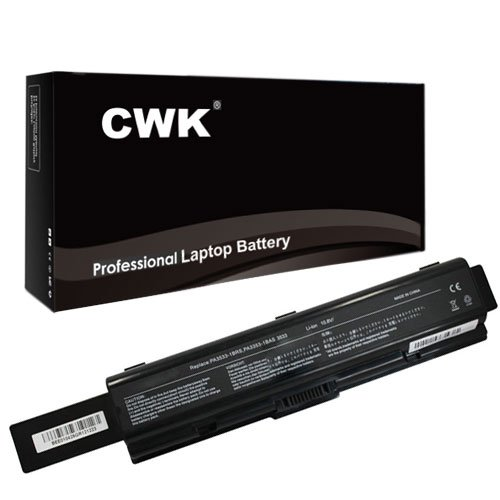 CWK� 7800mAh 9 Cell New Altered consciousness Capacity Battery for TOSHIBA L300 PA3533U-1BRS PA3534U-1BAS Toshiba Lieutenant Pro A200-1YY A300-24H L300-29H L500D-13X PA3534U-1BRS A200 A200 A300 Primary 6-Cell Li-Ion Pack PA3534U-1BRS Primary Li-Ion Pack T