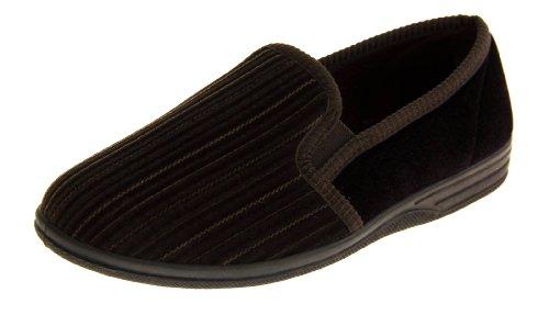 Footwear Studio , Herren Hausschuhe Braun braun, Braun - braun - Größe: 40.5