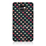 Ecell - HEAD CASE GREEN AND PEACH MULTI-COLOURED BACK CASE FOR SAMSUNG GALAXY S II I9100