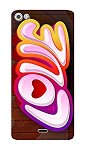 SWAG my CASE PRINTED BACK COVER FOR MICROMAX CANVAS SILVER 5 Q450 Multicolor