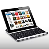 "iPad 2 Bluetooth Keyboard QWERTZ Deutsche Tastatur Aluminium Cover f�r Applevon ""CELLAPOD"""